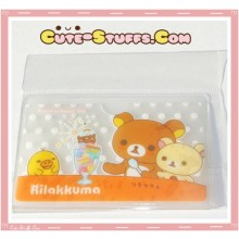 Kawaii San-X ID Card Holder - Rilakkuma Sundae