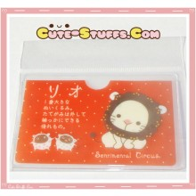 Kawaii San-X ID Card Holder - Sentimental Circus Rio the Lion