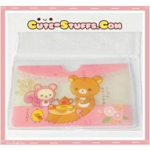 Kawaii San-X ID Card Holder - Rilakkuma Tea Party