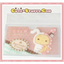 Kawaii San-X ID Card Holder - Sentimental Circus Shappo Logo