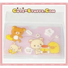 Kawaii San-X ID Card Holder - Rilakkuma Money
