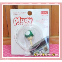 Kawaii 3.5mm Dust Plug Mario Mushroom 1uP