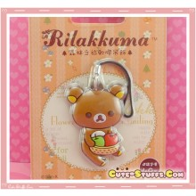 Kawaii Rare Discontinued Overseas Edition - Rilakkuma Strap! - Apples!