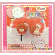 Kawaii Ipod Iphone Ipad Dust Plug Set Moc Moc!