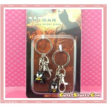 Kawaii 2 PC Batman Rare Keychain Pair!