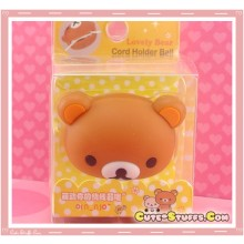 Kawaii Rilakkuma Head 3D Cord Winder