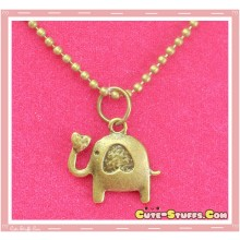 Kawaii Baby Love Elephant Necklace - Good Luck!