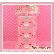 Kawaii 3PC Stackable Good Friends Pill or Trinket Box - Pink!