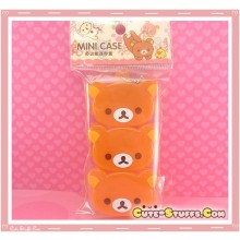 Kawaii Large 3PC Stackable Rilakkuma Pill or Trinket Box