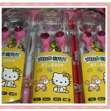 Rare Kawaii Hello Kitty Pink Gem Headphones