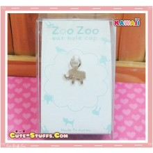 Kawaii Gold Dangle Dust Plug Charm! Elephant