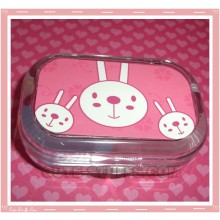 Kawaii Travel Lens Case or Trinket Box! - METOO Bunny