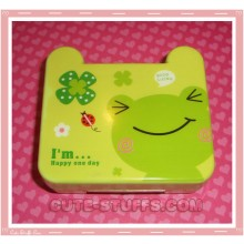 Kawaii Travel Lens Case or Trinket Box! - Kerori Frog