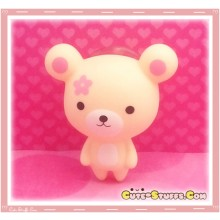Kawaii Faye Bear Window Cling! Beige