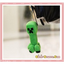 Kawaii Unique Plush Minecraft Creeper Phone Strap or Keychain Charm!