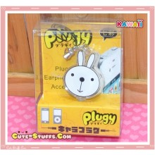 Kawaii Rare Flashing Transparent Head Dust Plug! Metoo Bunny