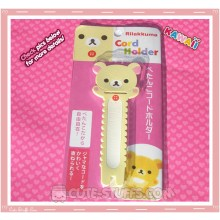 Kawaii San-x Long Cord Holder Korilakkuma