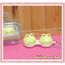 Kawaii Animal Series 2 Capsule Contact Lense Case! - Frog