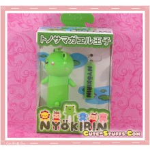 Kawaii Rare Nyokirin Led 2 Pc Phone Strap! Frog!