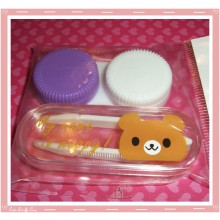 Kawaii Mini Travel Lens Case or Trinket Box! - Brown Bear