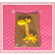Kawaii Flat Nanaco Giraffe Yellow Cord Winder