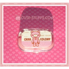 Kawaii Sparkle Travel Lens Case or Trinket Box! - Gloomy Bear
