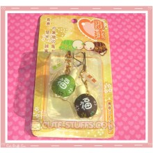 Kawaii Rare Resin Turtles Phone Strap Set! Green & Brown!
