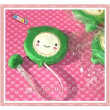 Kawaii Plush Retractable Tape Measure Ruler - Green