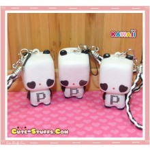 Kawaii Square Panda Phone Charm!