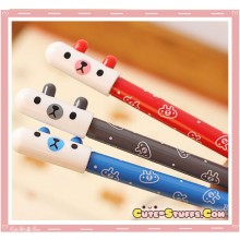 Kawaii Pill Capsule Bear Pen! U Choose Color!