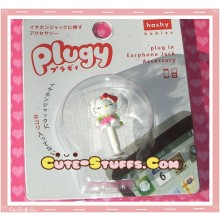 Kawaii 3.5mm Dust Plug Hello Kitty Green