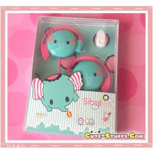 Very Rare Mouton Elephant Sentemintal Circus Headphones Kawaii