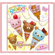 Kawaii San-X Rilakkuma Ice Cream Pen Charm - U Choose Color!
