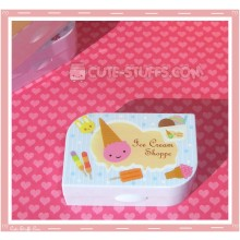 Kawaii Opaque Travel Lens Case or Trinket Box! - Ice Cream