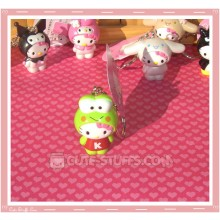 Kawaii Hello Kitty Costume Keychain - Keroppi
