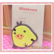 Kawaii Flat Kiiroitori Head Cord Winder