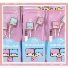 Rare Kawaii Square Little Twin Stars Sanrio Licensed Earphones!