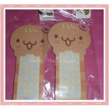 Kawaii Gingerbread Cookie Man Memo Pad
