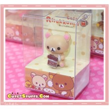 Kawaii 3.5mm Rilakkuma Cafe Series Dust Plug! Korilakkuma Chocolate