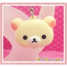 Kawaii Unique Korilakkuma Head Light Keychain!