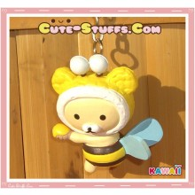 Kawaii Rilakkuma Meets Honey Series Keychain - Korilakkuma Bee