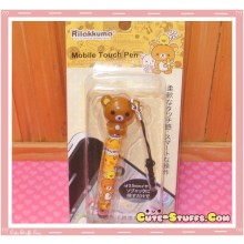 Kawaii Dangle Dust Plug Stylus Touch Pen New Rilakkuma