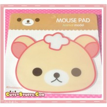 Kawaii Korilakkuma Mousepad - Chef Hat