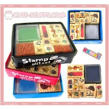 Kawaii 15pc Stamp Set