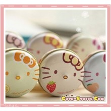 Kawaii Hello Kitty Tin Pod Lip Balm! So Cute!