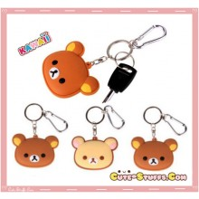 Kawaii Large Rilakkuma or Korilakkuma Key Chain - U Choose!