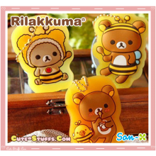 Kawaii 3D Rilakkuma or Korilakkuma Slip Key Holder