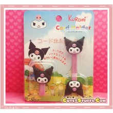Kawaii Rare 2 PC Cord Holder Kuromi