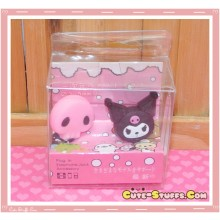 Kawaii 3.5mm Kuromi Dust Plug Set Duo