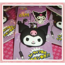 Kawaii Kuromi Cord Holder & Phone Strap